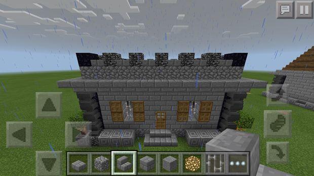 Casa Medieval De Minecraft Pe Paso 8 El Techo El Techo