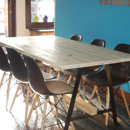 Hacer tu propia mesa de comedor - askix.com