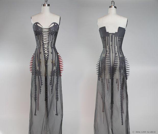 Hacer patrones de diseño de moda exclusiva con Pepakura arte de ...