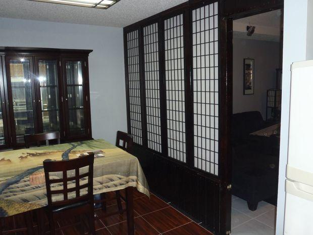 Cómo dividir dos habitaciones con una pared shoji hecho barato ...