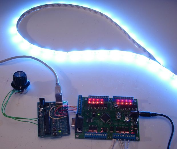 Control de ikea dioder tira de led con arduino 16 x pwm - Tiras de led ikea ...