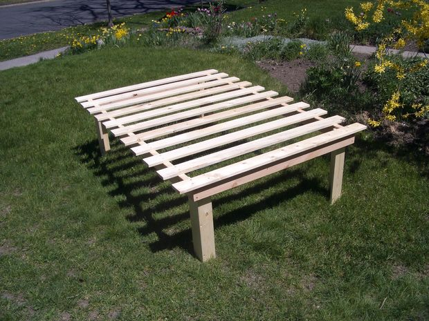 Barato, fácil, desechos de baja cama de plataforma planes - askix.com