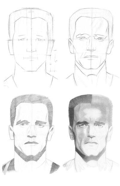 Fáciles de dibujar personajes de Halloween / Paso 6: Reflexiones ...