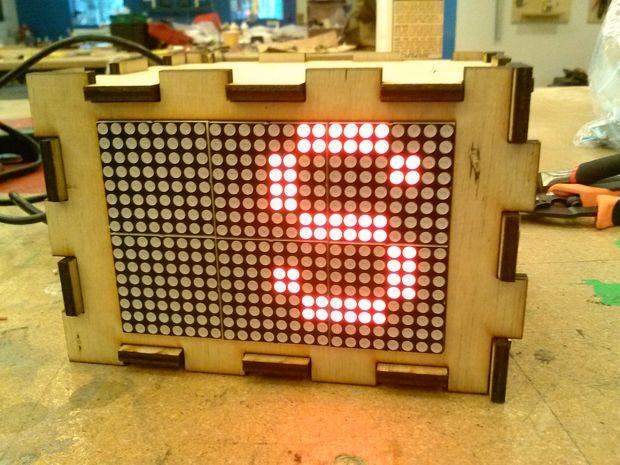 Generador de código Morse para la 16 x 24 HT1632C LED Matrix