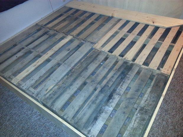 Marco de la cama de plataforma. - askix.com