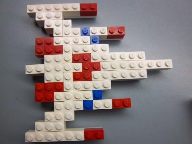 Nave Espacial De Lego Galaga Askixcom