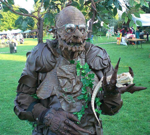 8 ENT pie árbol monstruo / treebeard Arbol hombre traje de Halloween ...