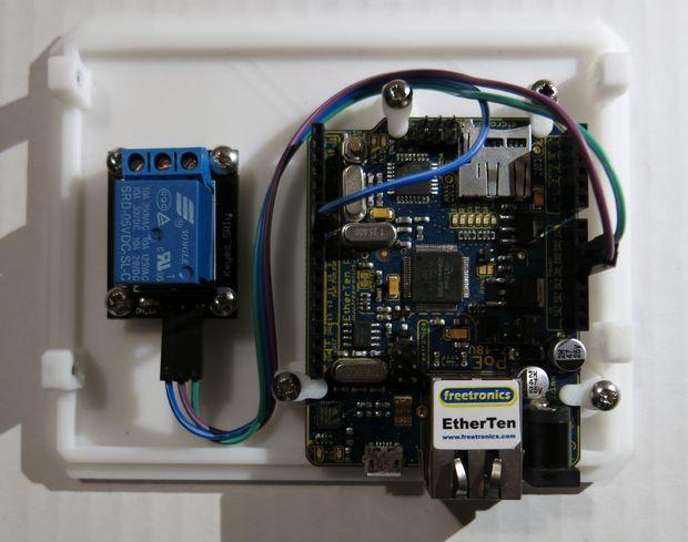 Abridor De Puerta De Garaje Wifi Arduino Askix Com
