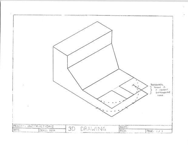Dibujo tcnico en tres dimensiones  Paso 6 Dibujar bordes