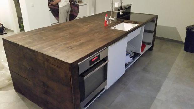 Concreto A La Madera Cocina Paso 7 Final Askix Com