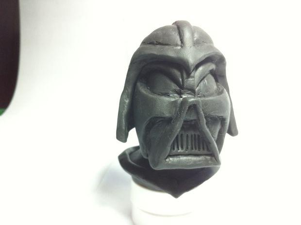 Darth Vader en origami | 463x620