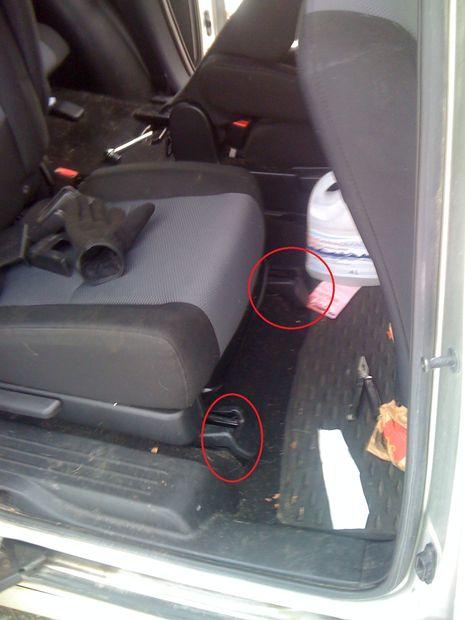 C mo quitar asientos mazda 5 paso 1 identificar y - Quitar rayones coche facilmente ...