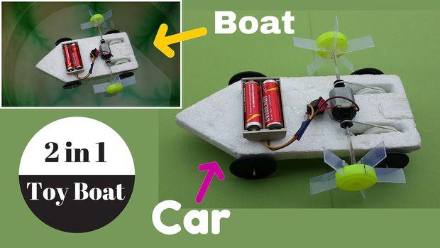 Como hacer una barca casera