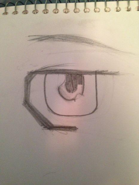 Cómo Dibujar Hombre Ojos De Mangaanime Askixcom