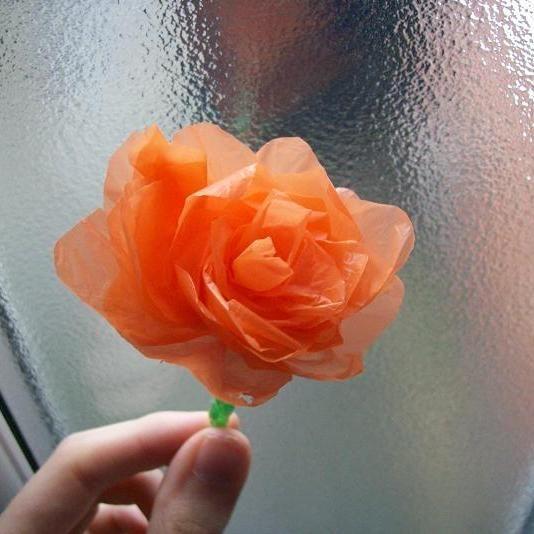 Flores Hechas De Bolsas De Plástico Askixcom