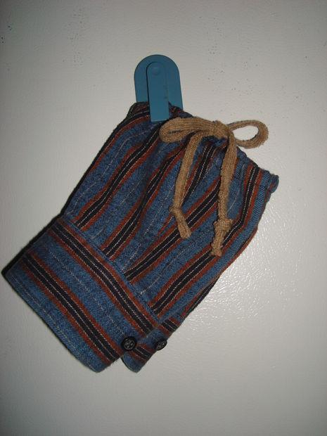 Guantes dedo menos de camisa de franela A - askix.com