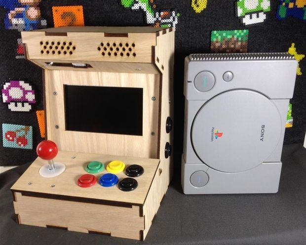 Construya su propio gabinete de arcade mini con frambuesa for Conectar botones arcade a raspberry pi 3