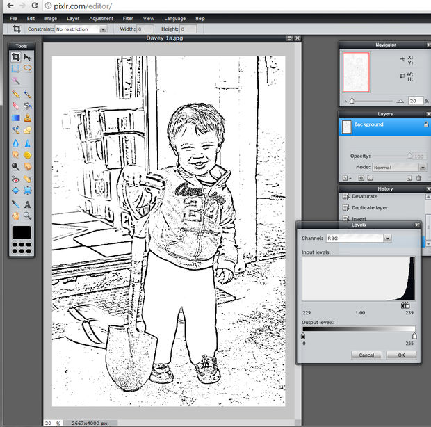 Cómo hacer un libro para colorear / Paso 12: Mueve los deslizadores ...