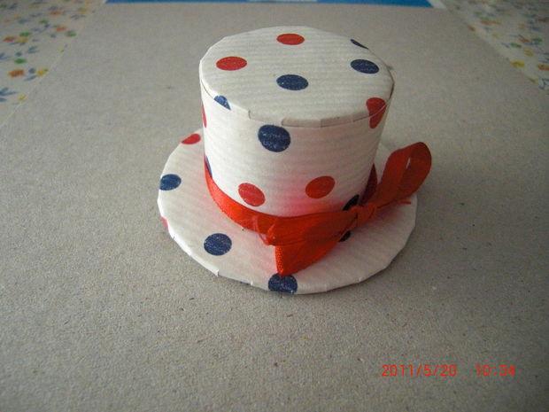 Sombrero pastillero lindo peasy fácil - reciclado ae2906715ad