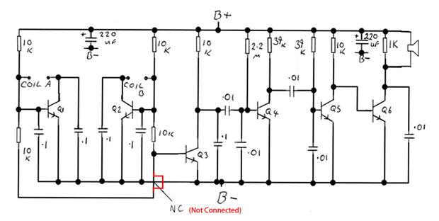 casero detector de metales bfo hizo adici u00f3n    paso 2  construir la placa de circuito