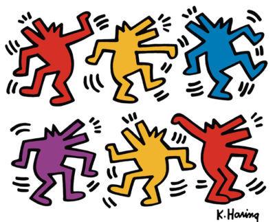 Keith Haring papel cadena / Paso 1: Obtener imágenes - askix.com