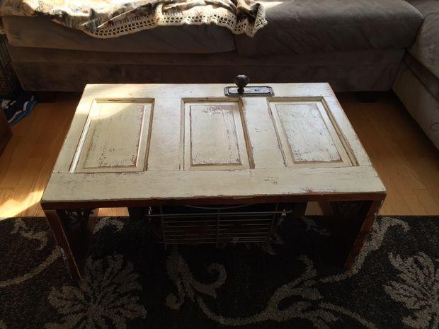 Mesas hechas con puertas viejas finest decorar con for Mesas hechas con puertas antiguas